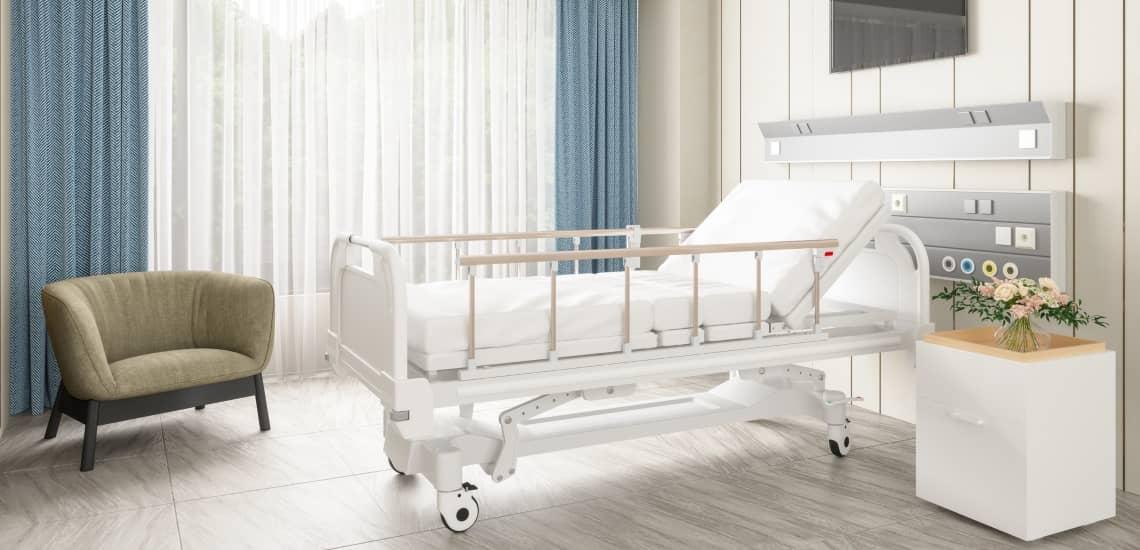 خرید تخت بیمار
